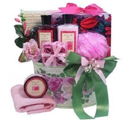 Art Of Appreciation Gift Baskets Mum S English Rose Garden Spa Bath And Body Gift Set Health Beauty Bath Body On Carousell