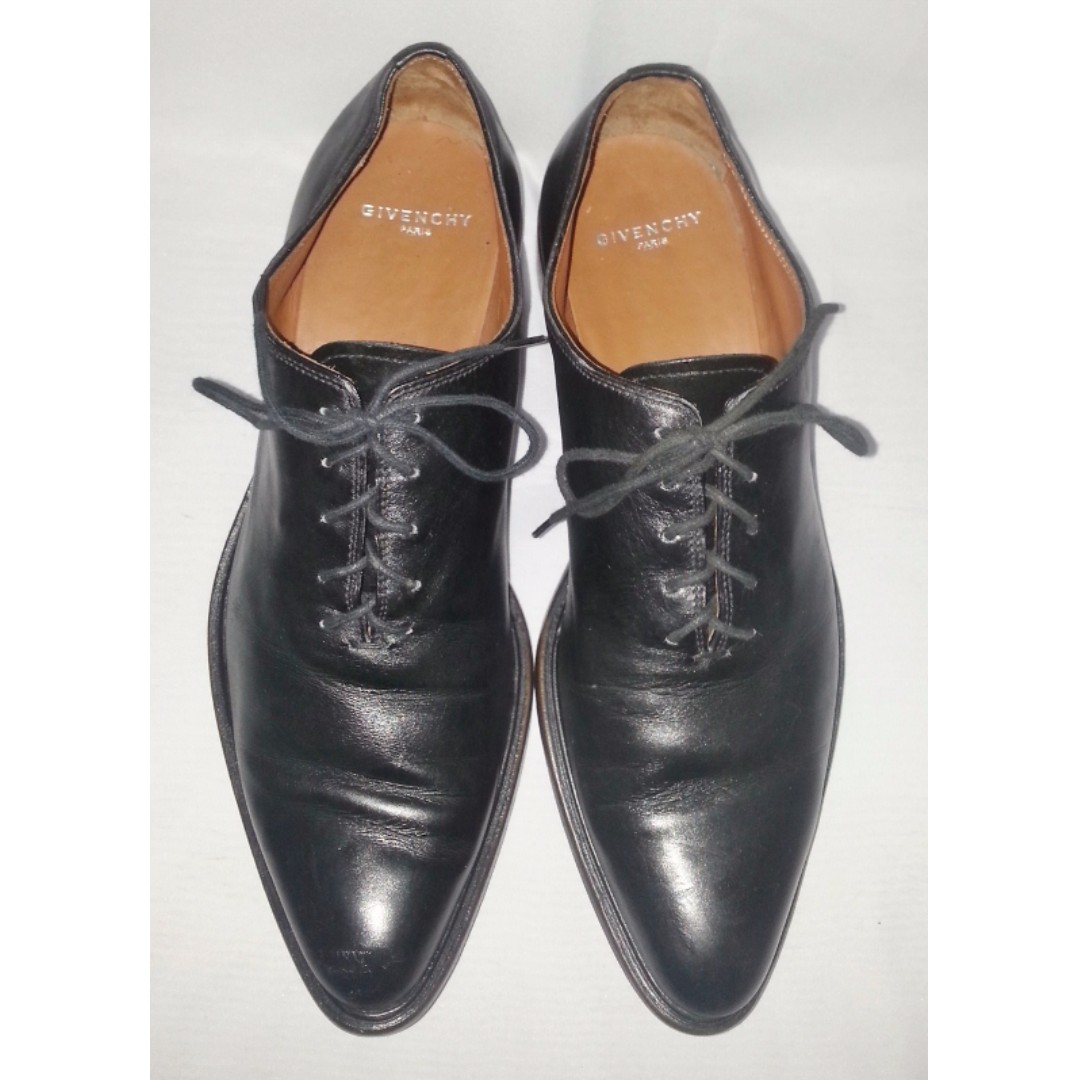 Authentic GIVENCHY Men's Formal Leather Shoes 41 1/2