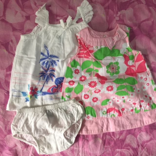 Baby Gap And Gymboree dress 0 to 3 mos 2pcs for Php 600