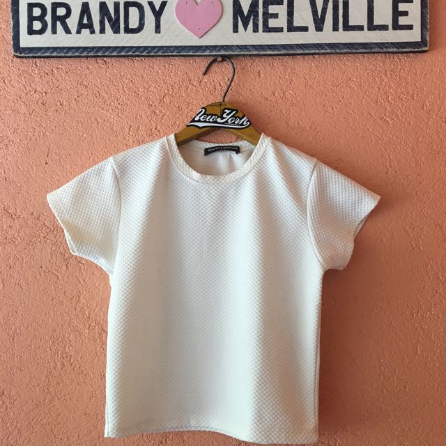 Brandy Melville Textured tee