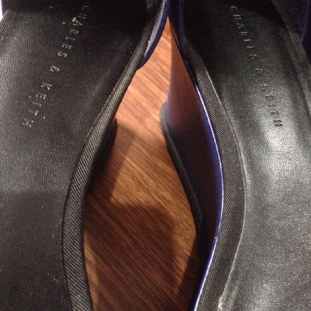 Charles & Keith Platform Size 37
