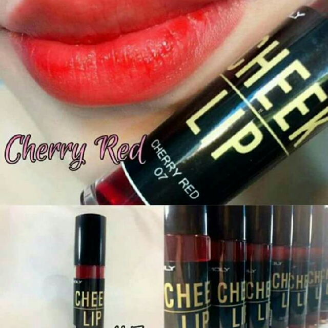 Cheek And Lip Tint Cherry Red