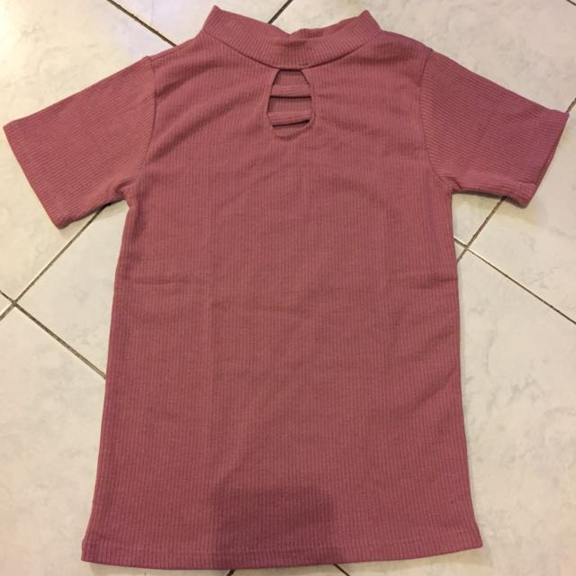 Color Old Rose Top