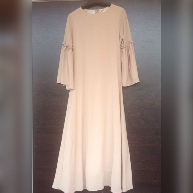 Coudre Bell Sleeve Long Dress