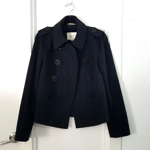 Country Road Navy Coat