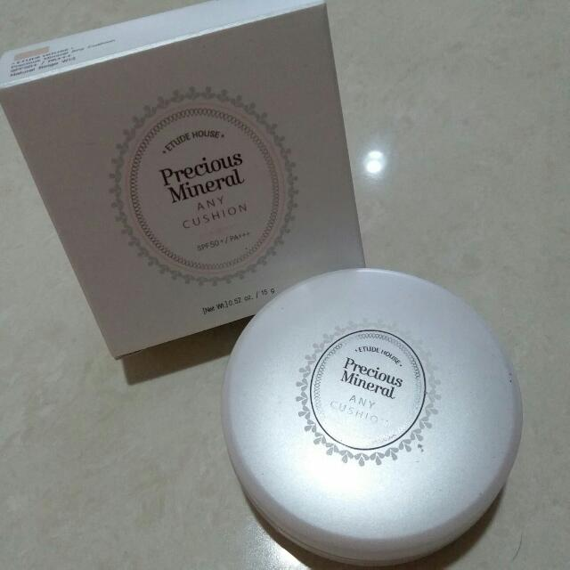 Etude House Precious Mineral Any Cushion SPF 50+/PA+++ 15gr Natural Beige W13