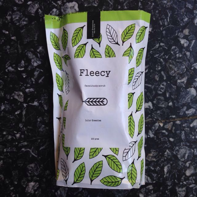 Fleecy Green Tea Face & Body Scrub