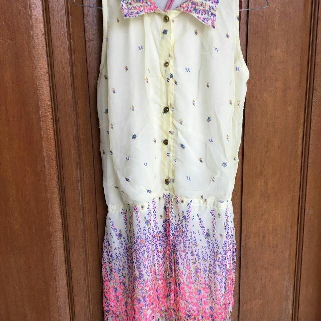 Flowery Mini Dress