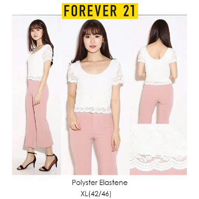 Forever24 Lace Top