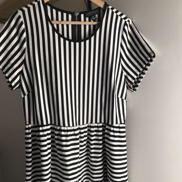 Forever 21 Stripes Dress