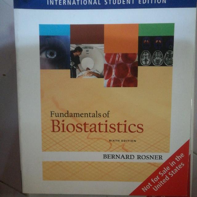 fundamentals of biostatistics bernard rosner