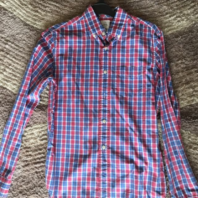 Gap Checker Shirt Size Xs