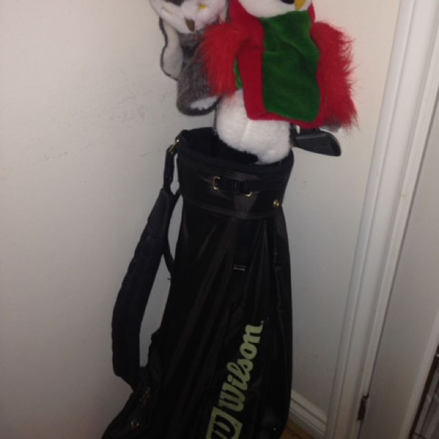 Golf Set With Bag And Cover