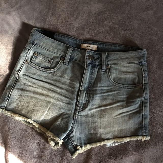 High Waisted Talula Shorts