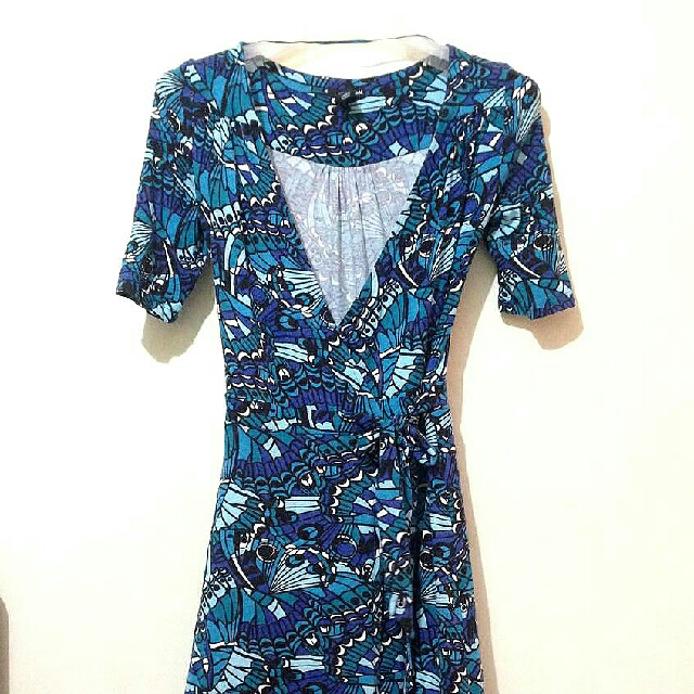 H&M Nursing Wrap Around Dress
