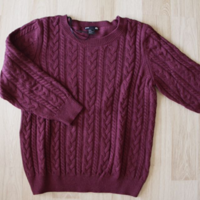 H&M sweater (also available in navy blue)