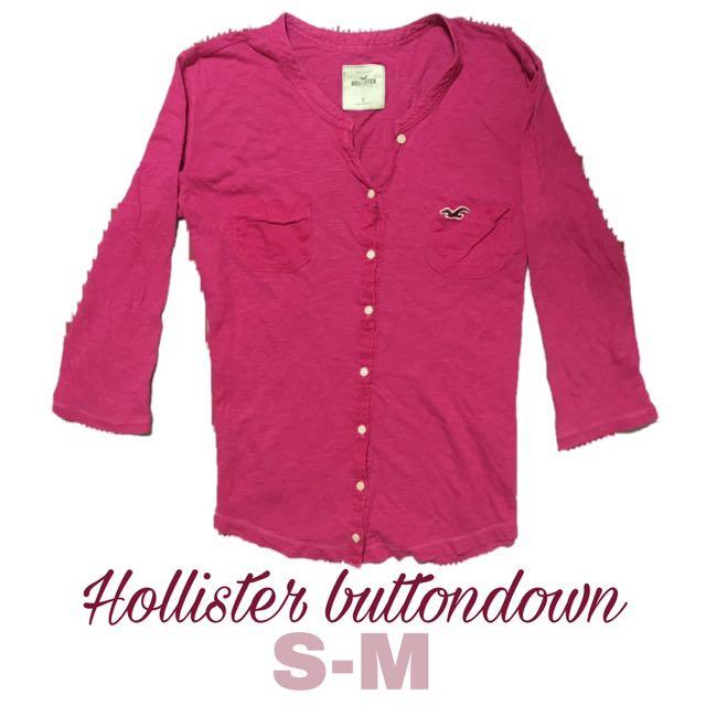 Hollister buttondown blouse