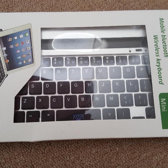 Ipad Mini Bluetooth Wireless Keyboard