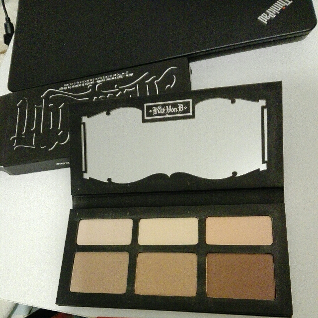 KatVonD Contour Palette Shade And Light