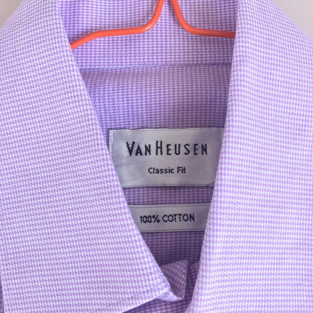 Kemeja pria Van Hausten