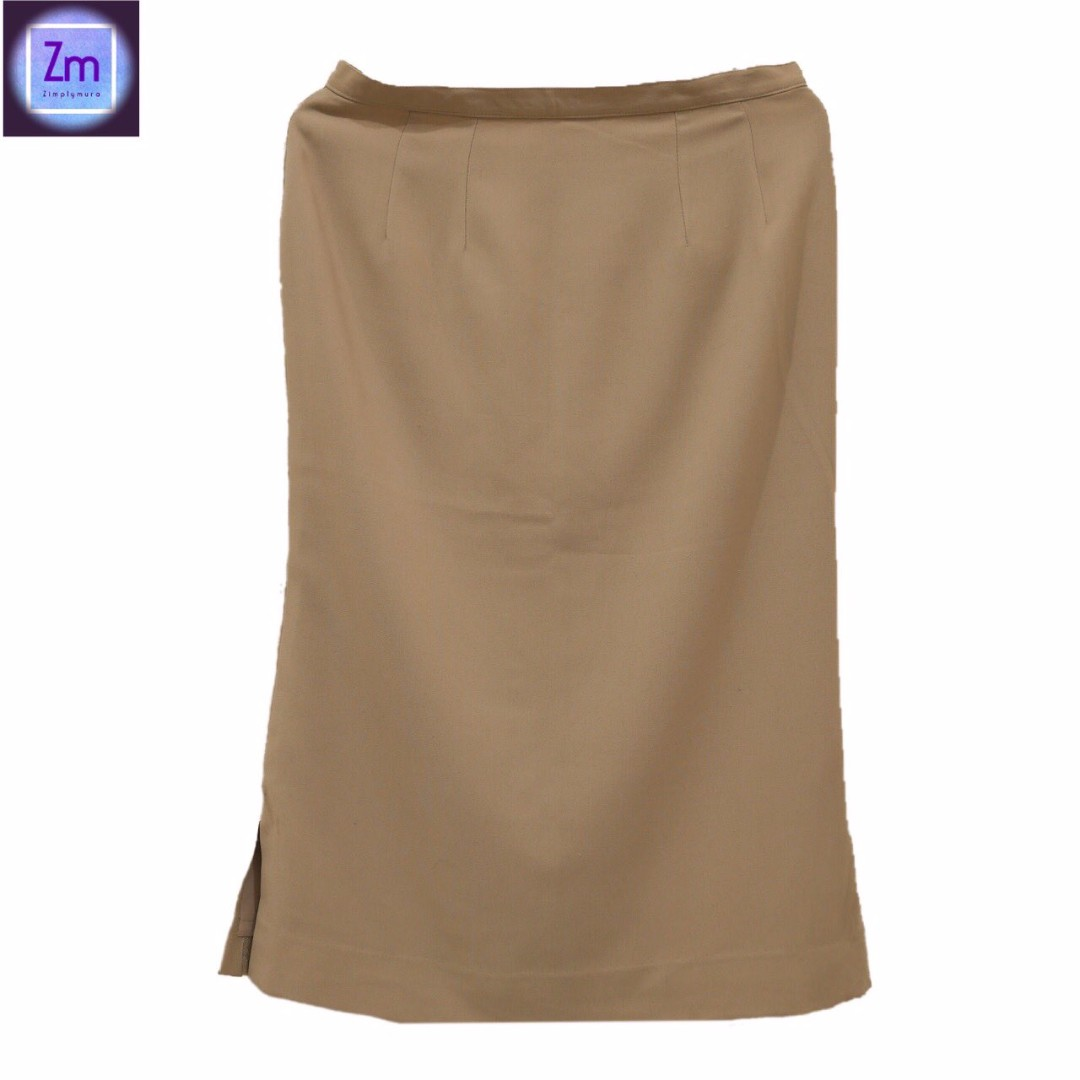 Khaki Long Skirt  (DSPNO#12)