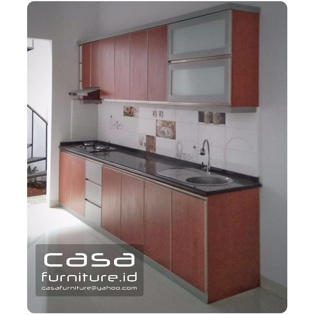 Kitchen Set Model Lurus Minimalis Home Furniture On Carousell