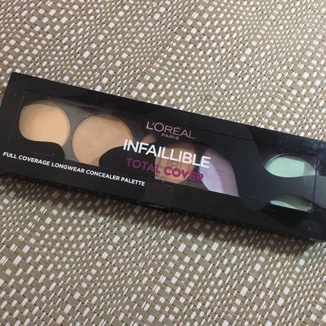 L'ORÉAL Infaillible total cover concealer palette