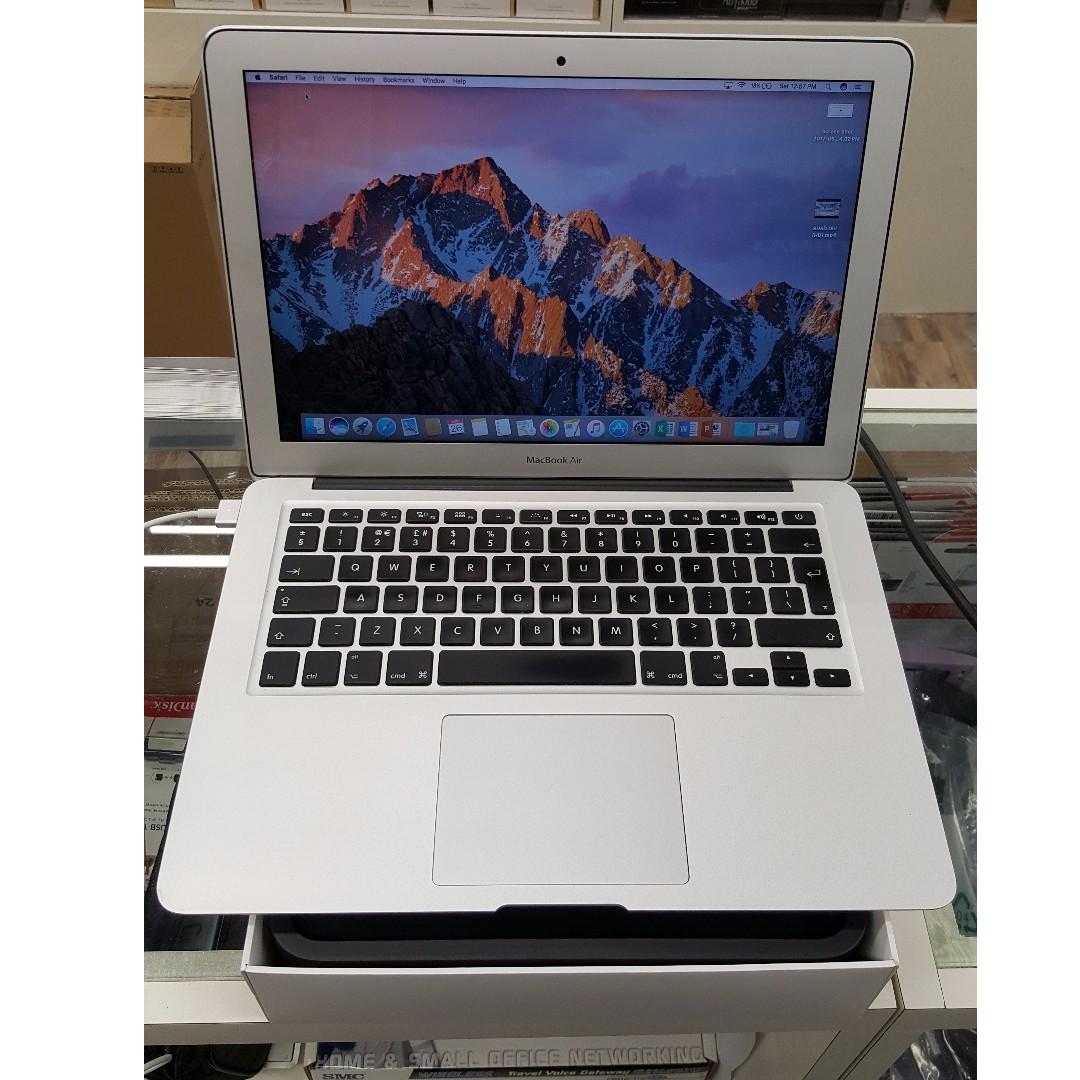 Macbook Air 13 Inch Mid 2013 I7 8gb 256gb Ssd Electronics Pro Late 2011 I5 4gb Sierra Bekas Photo