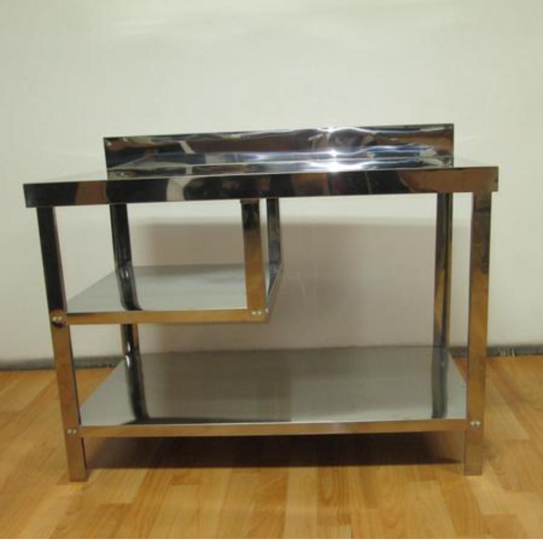 Meja Dapur Kompor Full Stainless Steel Mt 1 Set Metalco Harga Pabrik Gratis Ongkir Kitchen Liances Di Carou