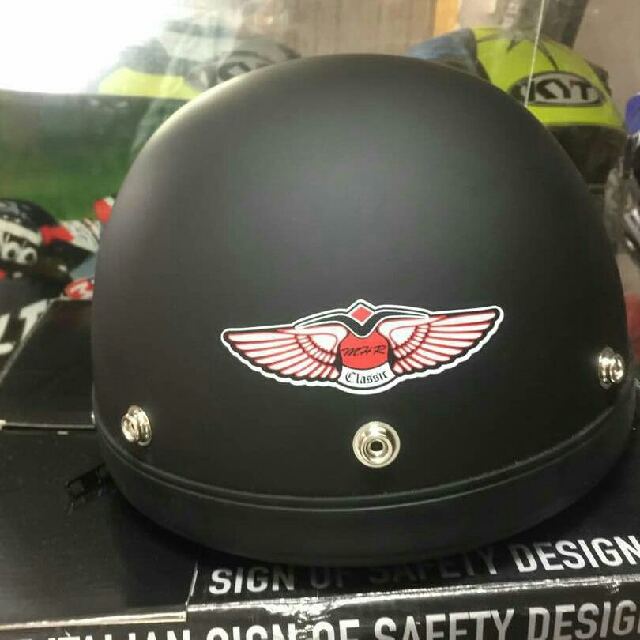 dfc0fc9e MHR half Face Helmet (Limited Color), Motorbikes, Motorbike Apparel ...