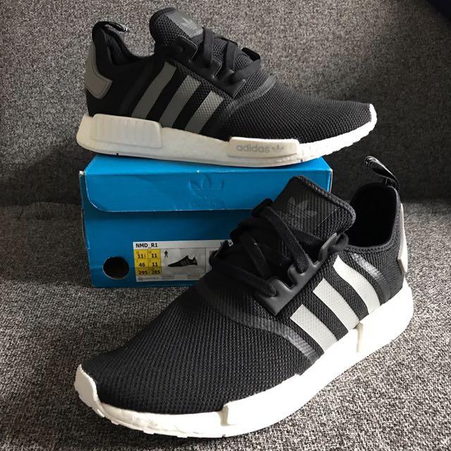 New Adidas Nmd R1 Mesh Black US 11.5