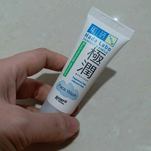 NEW Hada Labo Gokujyun Ultimate Moisturizing Face Wash 20gr