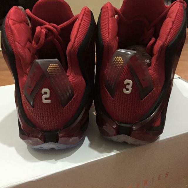 sports shoes e2f15 9f63a ... real nike lebron 12 limited edition mens fashion footwear on carousell  c2f4c fb7c8