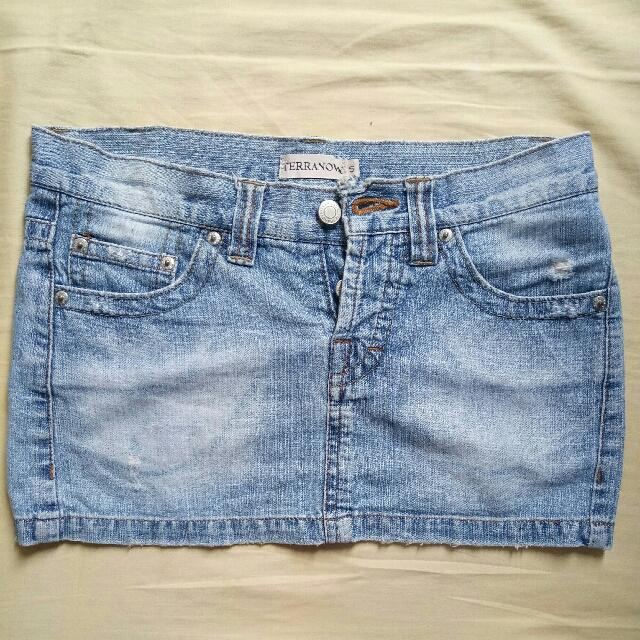 Preloved Terranova Denim Skirt
