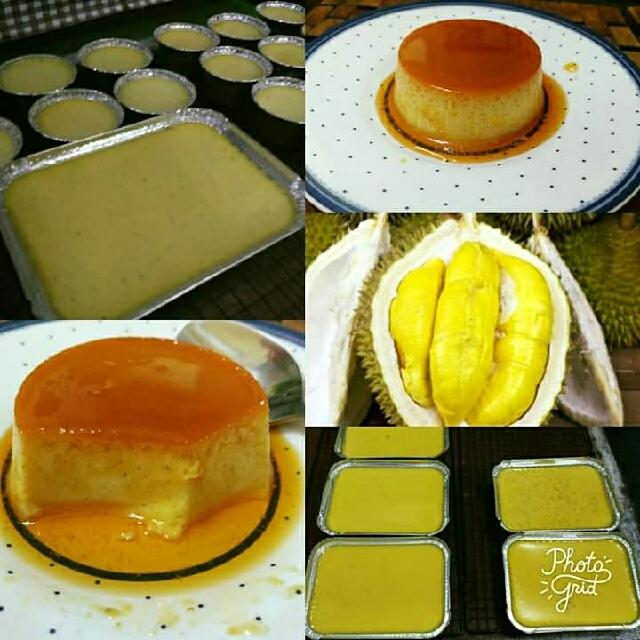 Pudding Caramel Durian