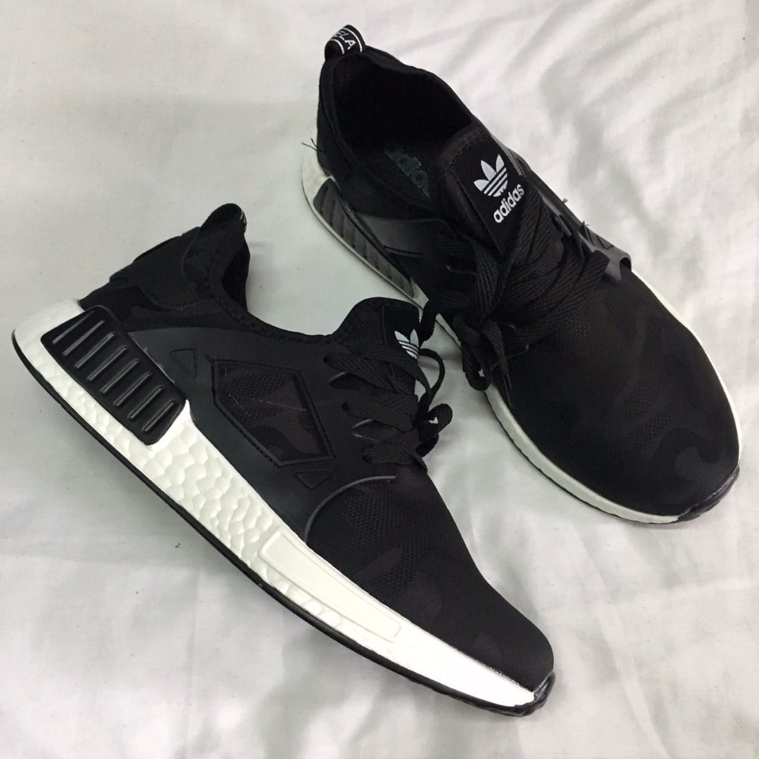 09121397 READY STOCK]ADIDAS NMD XR1 BLACK/WHITE, Men's Fashion, Footwear on ...