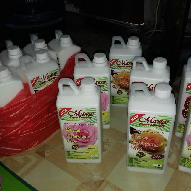 Restok Pewangi Laundry Mawar