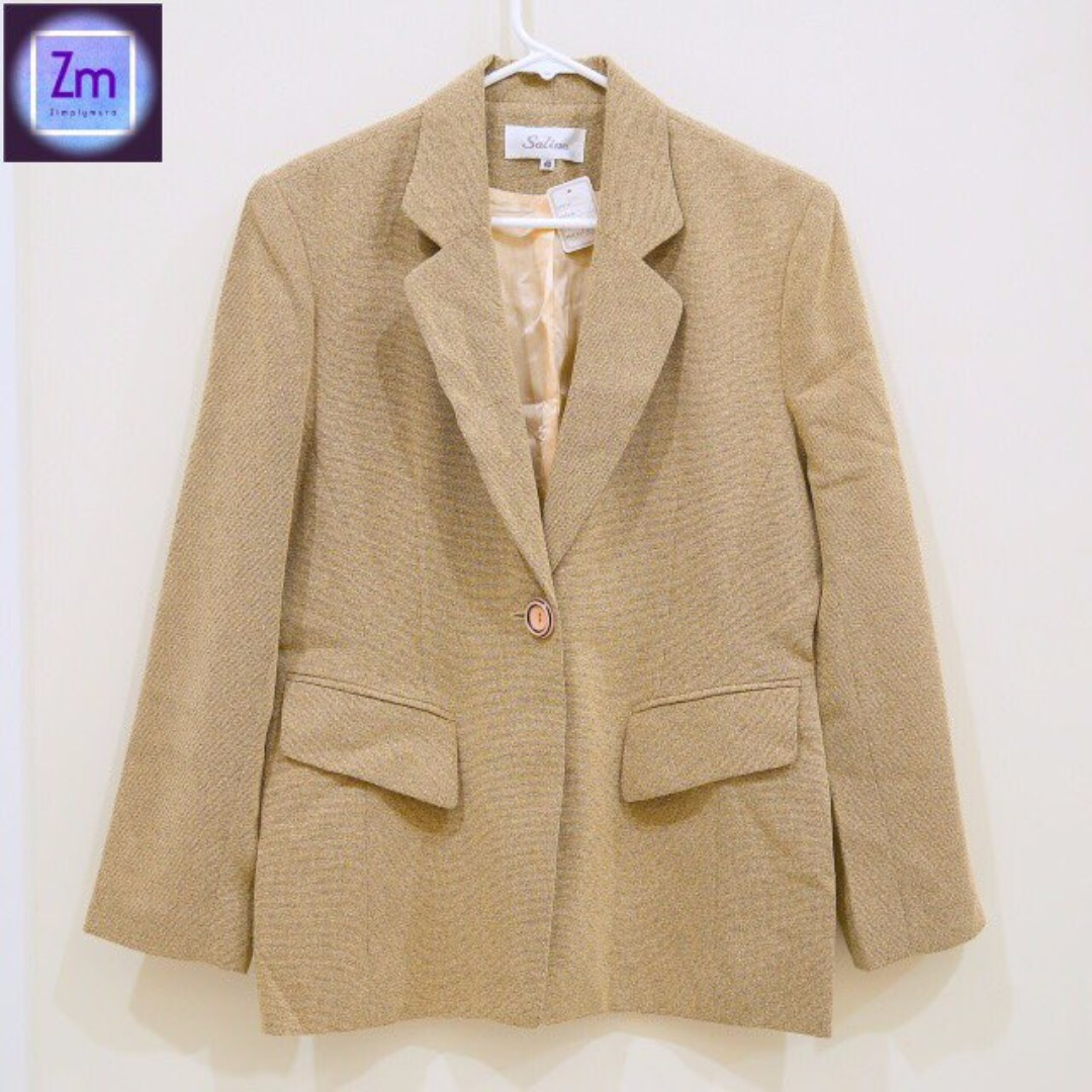 SALINA (New with Tag) Beige Blazer  (LBCA#13)