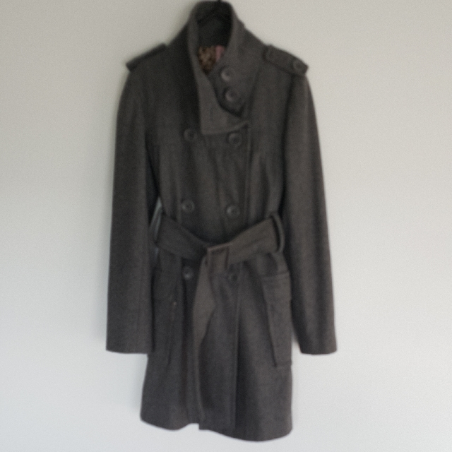 Sass Grey Coat