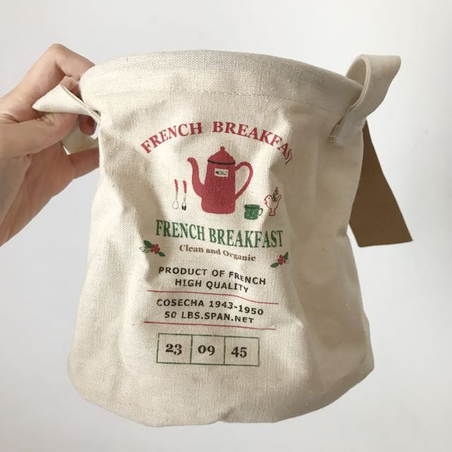 Scoop Lunch Straw Bag