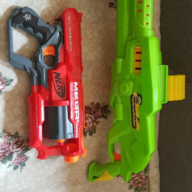 Sidewinder +Nerf Gun