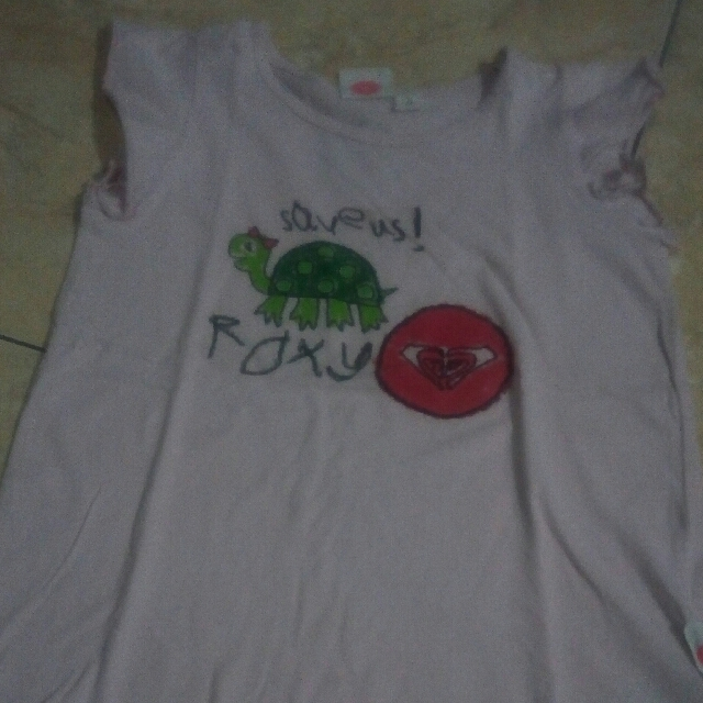 Sleeveless Roxy Save Bali Turtle Tees