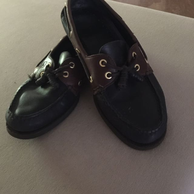 Sperry topsider Black(size 8)