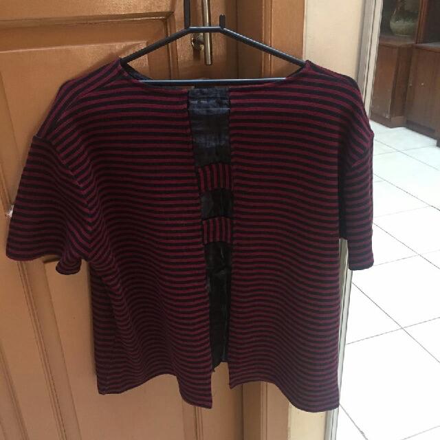 Stripes Merah Hitam