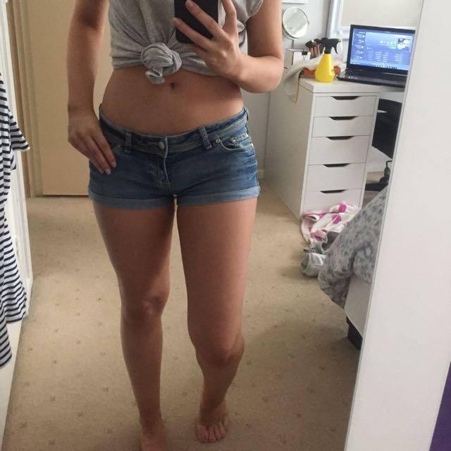 SUPRE Jean Short Shorts