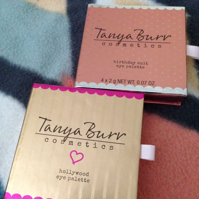 Tanya Burr Eyeshadow Quads