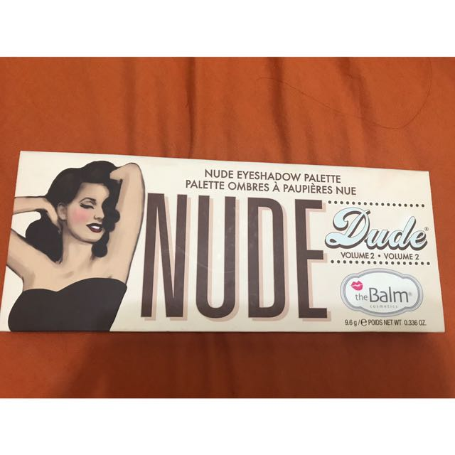 The Balm Nude Dude 眼影盤