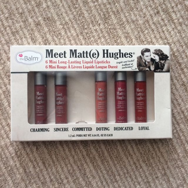 TheBalm Meet Matte Hughes Mini Set, The Balm