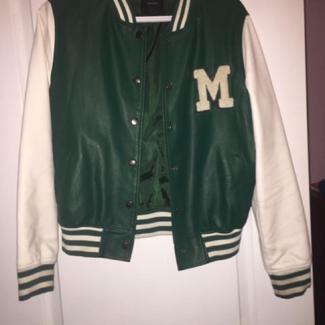 Three varsity jackets