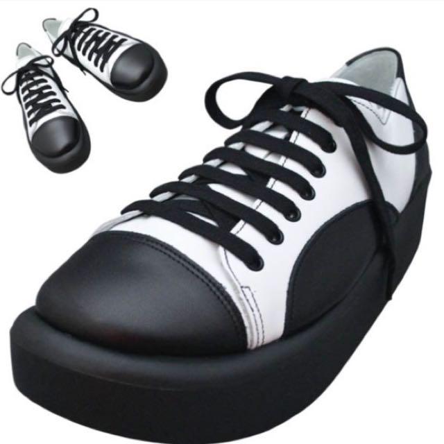 Tokyo Bopper🔥no874白黑厚底鞋
